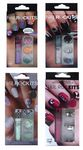 NAIL ROCK KITS 6 PIECE MANICURE BAR CHOICE OF 4 COLOUR & DESIGN WHITE PINK LILAC